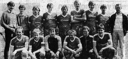 1985/86: 2.Mannschaft wird Kreismeister