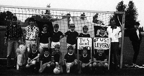 D-Jugend wird 1990 Vize-Meister