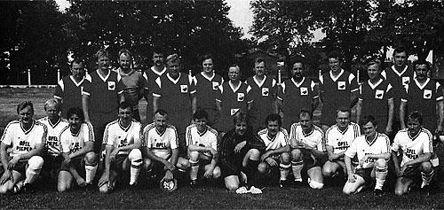 Alte Herrenmannschaft 1990 TuS Levern - SG Friedersdorf