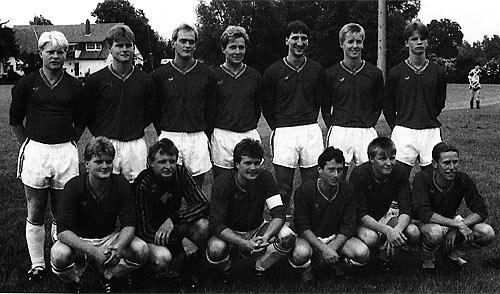 I. Mannschaft 1992/93