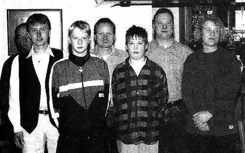Jugendvorstand 1996