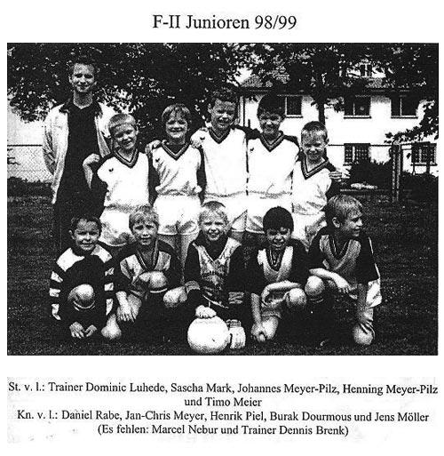 die F-2 Junioren 98/99