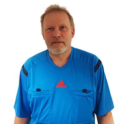 Schiedsrichter Bernd Hodde